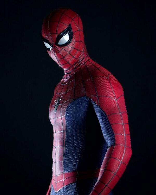 spider man lotus fan filme com baixo orcamento uma nova abordagem para o homem aranha traje 600x750 - Spider-Man: Lotus   Fan filme com baixo orçamento traz uma nova abordagem para o Homem-Aranha