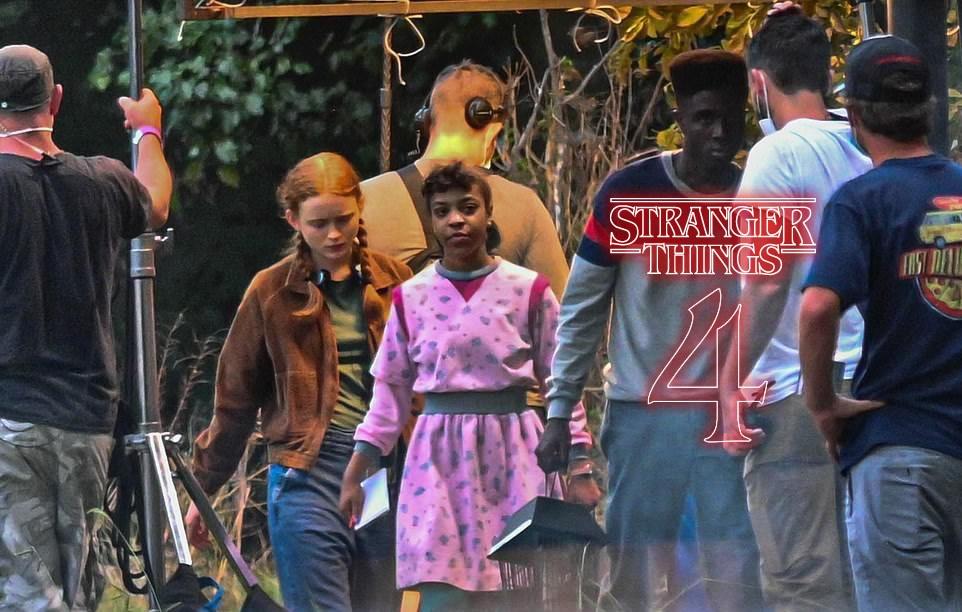 Stranger Things 4 | Divulgadas novas fotos de bastidores da quarta temporada na Netflix