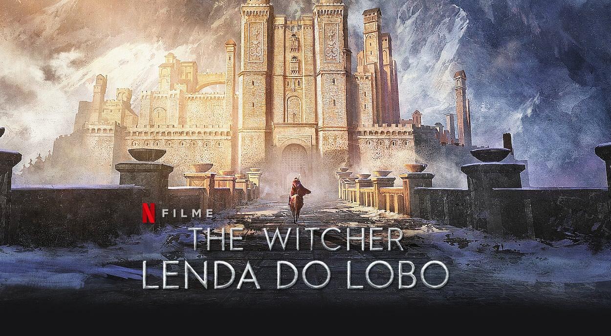 The Witcher: Lenda do Lobo   trailer do Anime prequela da série com Henry Cavill