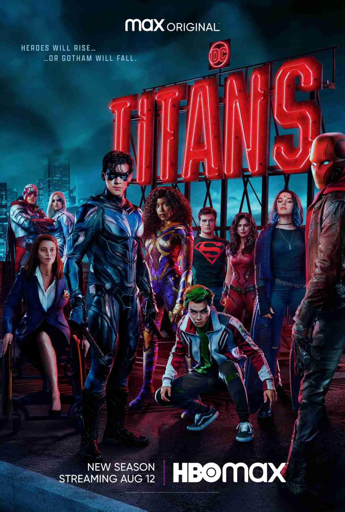 Titans Terceira Temporada   Capuz Vermelho conquistando Gotham City em trailer da HBO MAX