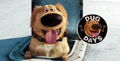 A Vida de Dug | Trailer dos curtas da Pixar do universo de UP e as aventuras de DUG