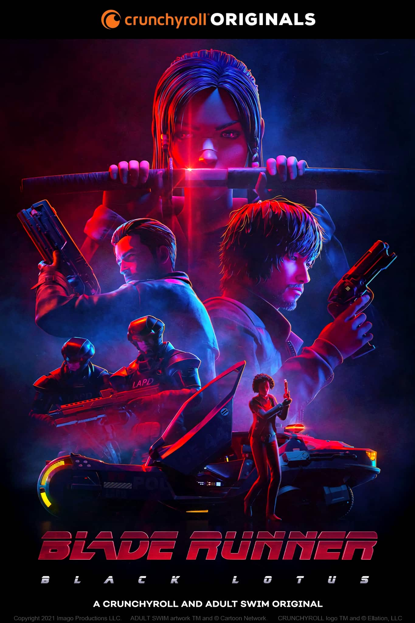 Blade Runner: Black Lotus   Abertura da série anime durante a Virtual Crunchyroll Expo