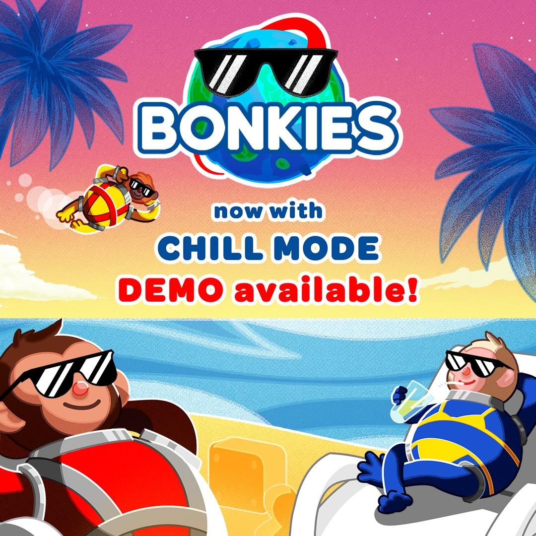 Bonkies | Jogo de construção cooperativa no espaço, recebe uma atualização bem chill