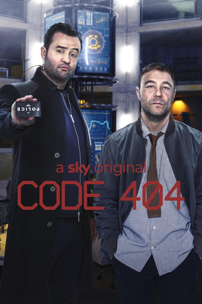 CODE 404 | Comédia de ficção científica onde um policial é trazido de volta à vida usando Inteligência Artificial