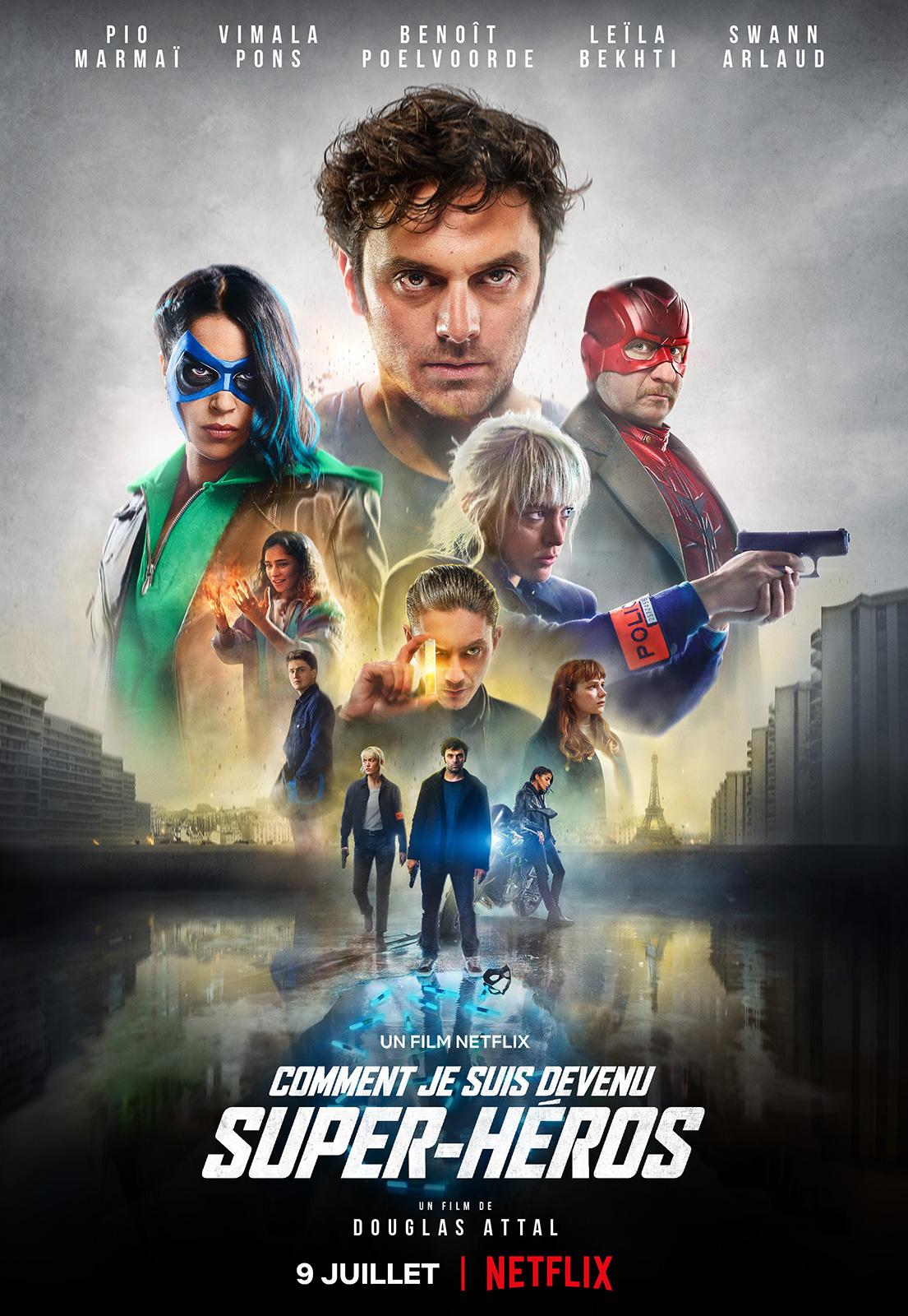 Como Virei Super-Herói   Filme de super-heróis francês com Pio Marmai no catálogo da Netflix
