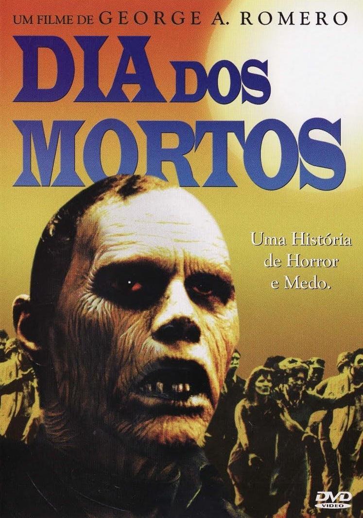 Pôster de Dia dos Mortos do clássico de George A. Romero