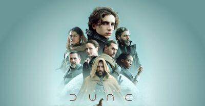 DUNA | Warner Bros divulga novo pôster com os personagens ao lado de Timothée Chalamet como Paul Atreides