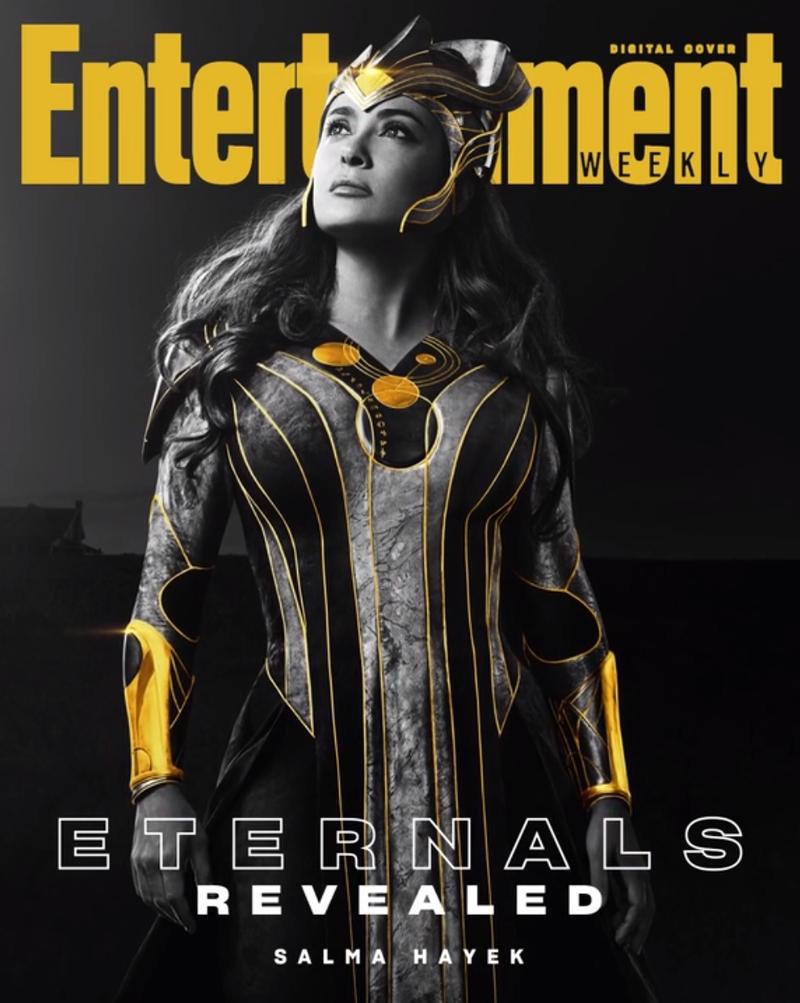 eternos ajak - ETERNOS | Entertainment Weekly divulga capas individuais com os personagens da Marvel Studios
