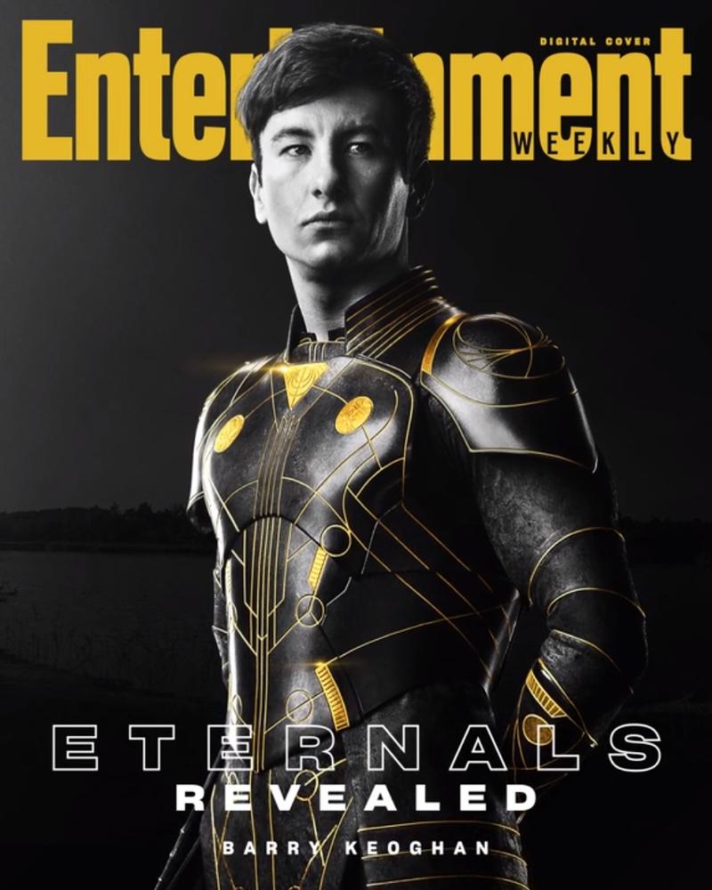 eternos druig - ETERNOS | Entertainment Weekly divulga capas individuais com os personagens da Marvel Studios
