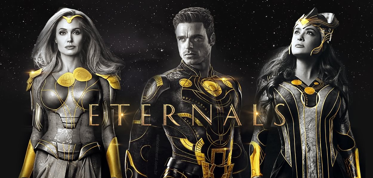 ETERNOS | Entertainment Weekly divulga capas individuais com os personagens da Marvel Studios
