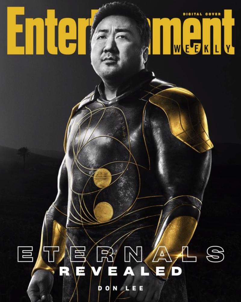 eternos gilgamesh - ETERNOS | Entertainment Weekly divulga capas individuais com os personagens da Marvel Studios