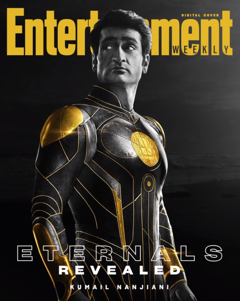 eternos kingo - ETERNOS | Entertainment Weekly divulga capas individuais com os personagens da Marvel Studios