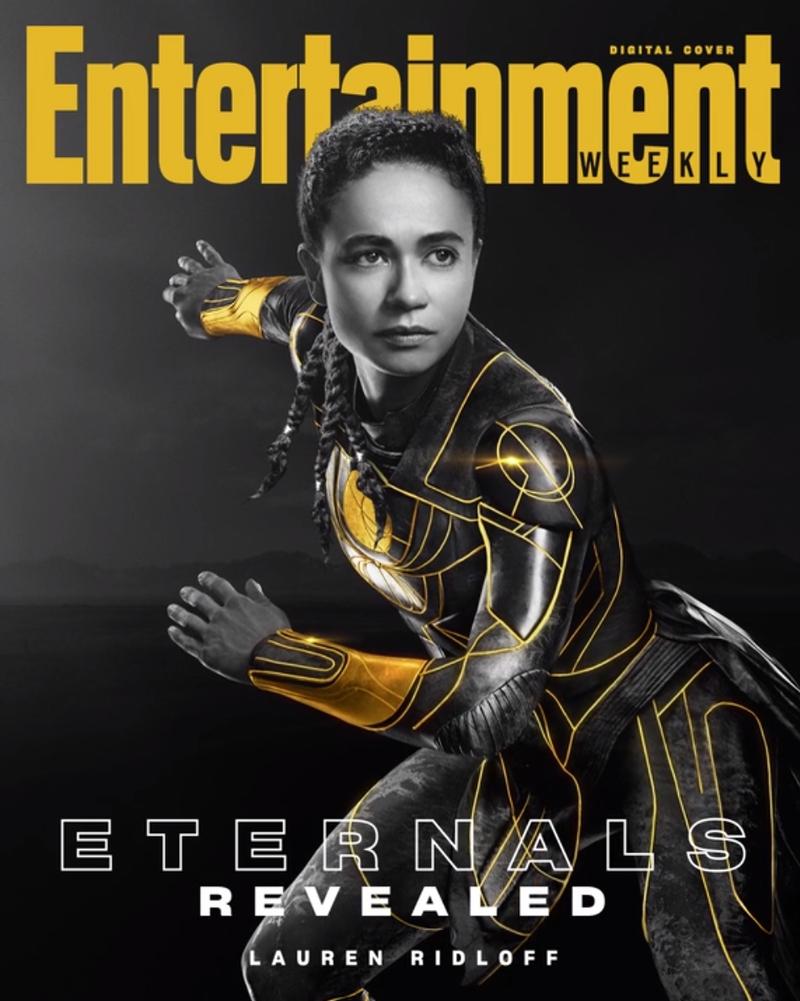 eternos makkari - ETERNOS | Entertainment Weekly divulga capas individuais com os personagens da Marvel Studios