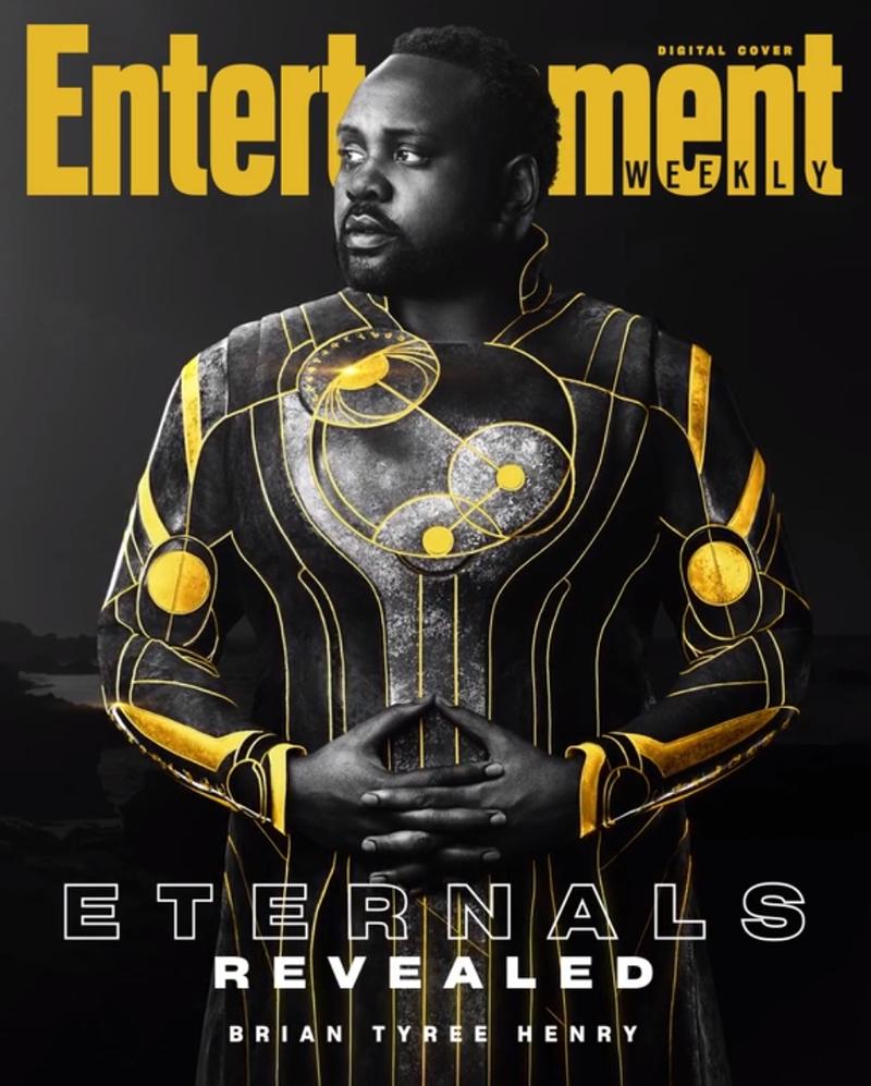 eternos phastos - ETERNOS | Entertainment Weekly divulga capas individuais com os personagens da Marvel Studios