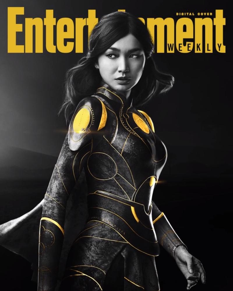 eternos sersi - ETERNOS | Entertainment Weekly divulga capas individuais com os personagens da Marvel Studios