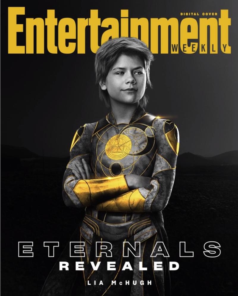 eternos sprite - ETERNOS | Entertainment Weekly divulga capas individuais com os personagens da Marvel Studios