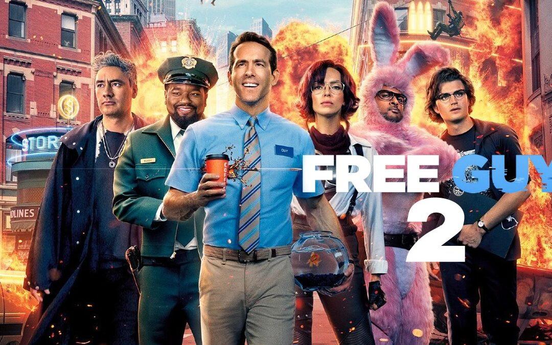 FREE GUY 2 | Ryan Reynolds disse que a Disney quer uma sequência para o longa dirigido por Shawn Levy