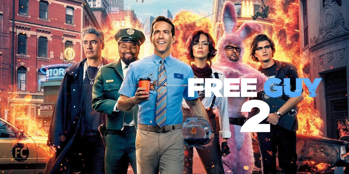 FREE GUY 2   Ryan Reynolds disse que a Disney quer uma sequência para o longa dirigido por Shawn Levy