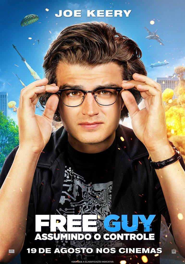 FREE GUY com Ryan Reynolds