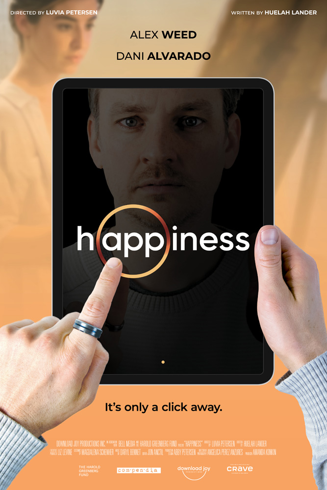 H.appiness | Ficção científica da Download Joy Productions onde um aplicativo traz felicidade seus usuários