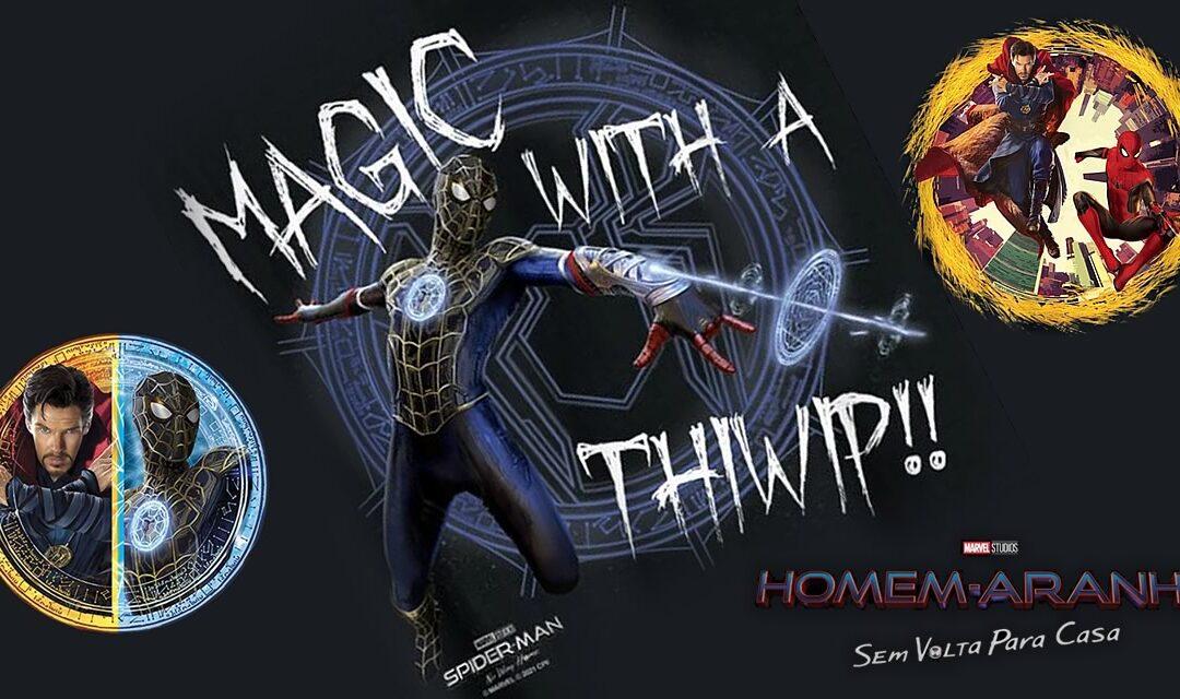 Homem-Aranha: Sem Volta Para Casa | Artes promocionais mostram o Homem-Aranha usando magia