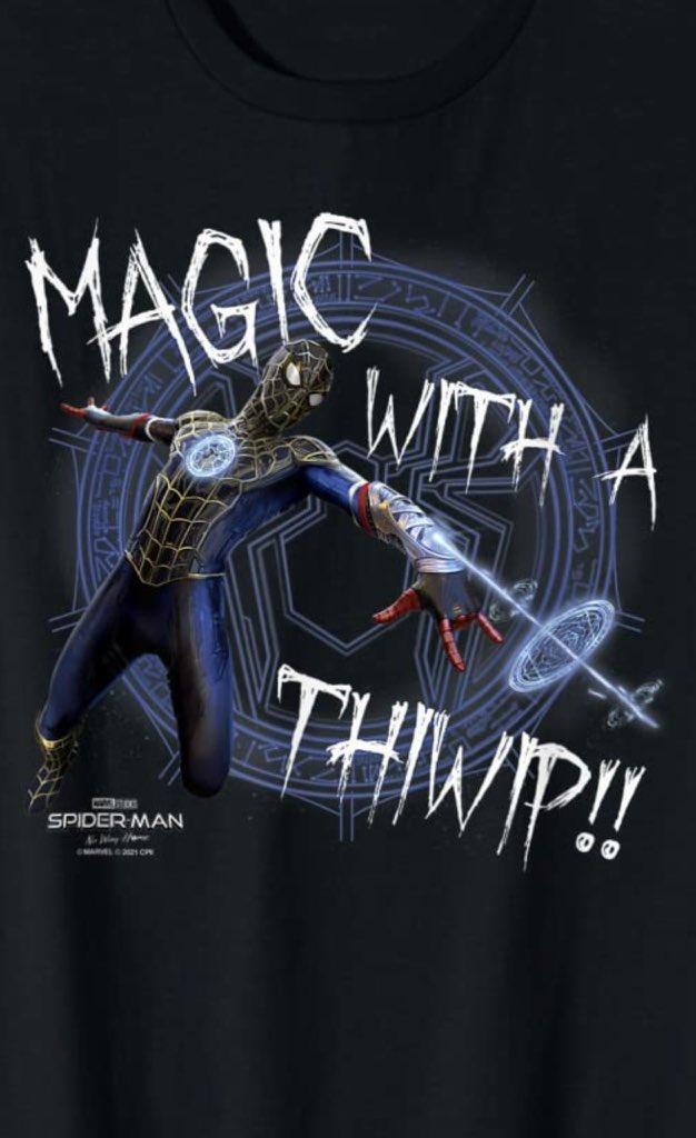 Homem-Aranha: Sem Volta Para Casa   Artes promocionais mostram o Homem-Aranha usando magia
