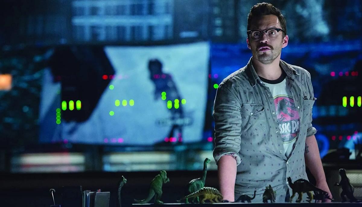 Jurassic World: Dominion | Jake Johnson revelou que não faz parte do elenco do terceiro filme da franquia