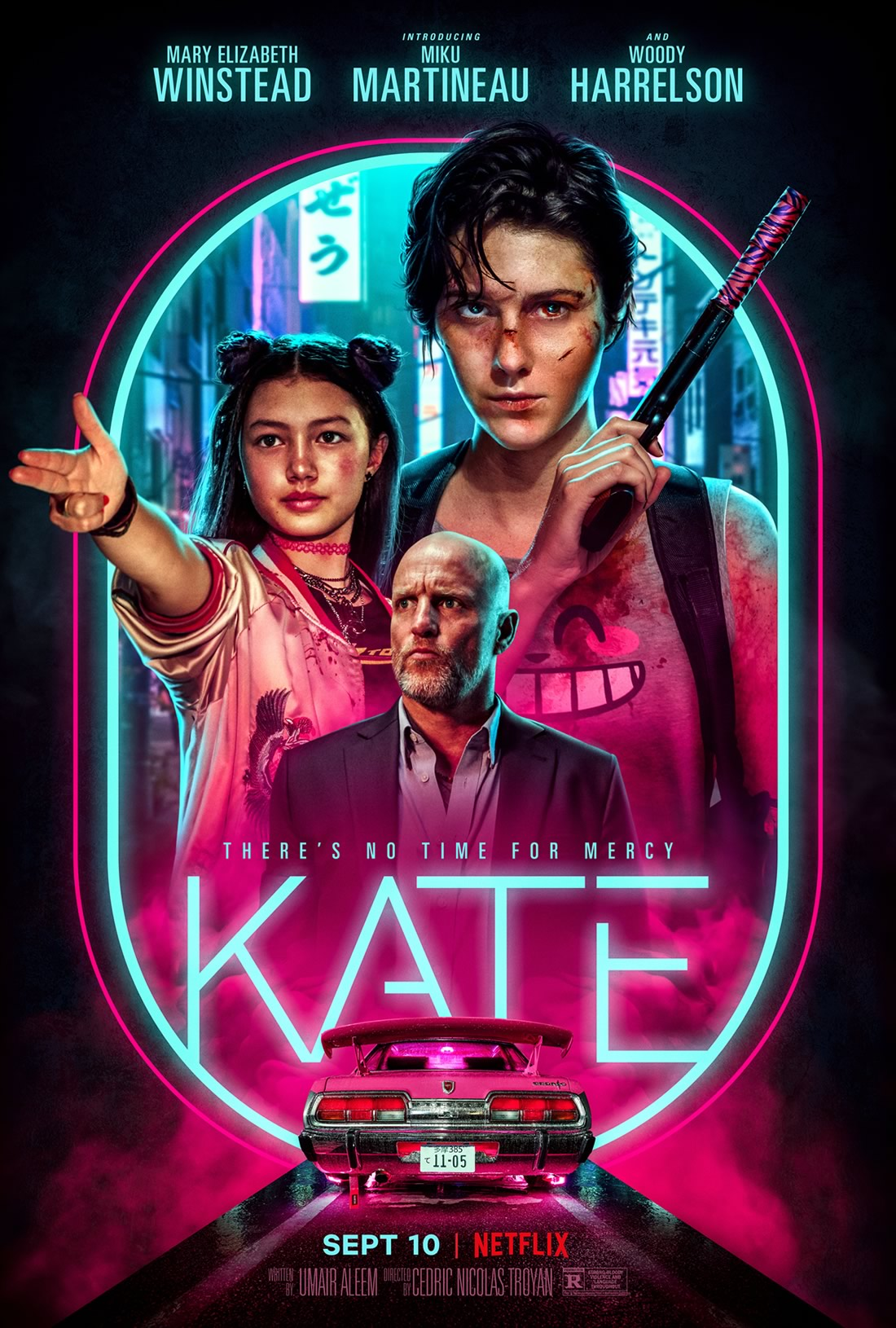 Kate   Filme de ação com Mary Elizabeth Winstead e Woody Harrelson na Netflix