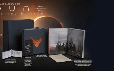 The Art and Soul of Dune de Denis Villeneuve, livro inclui uma partitura musical composta por Hans Zimmer