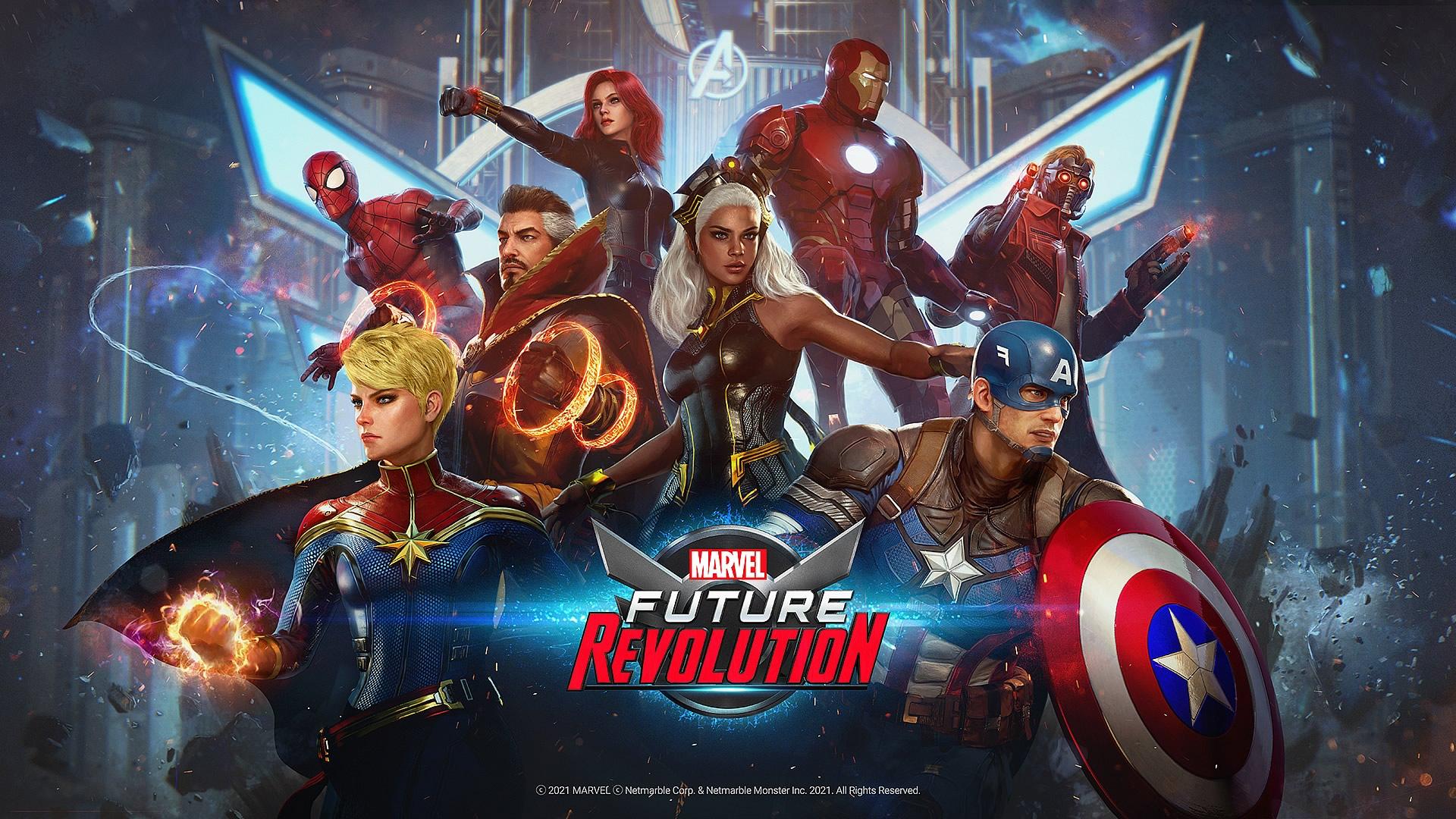 Marvel Future Revolution   Trailer do primeiro jogo de celular de mundo aberto com os heróis da Marvel