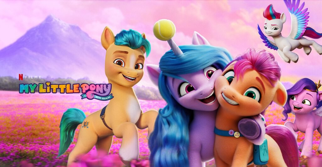 My Little Pony: Nova Geração | Netflix divulga trailer da nova aventura dos pôneis em Equestria