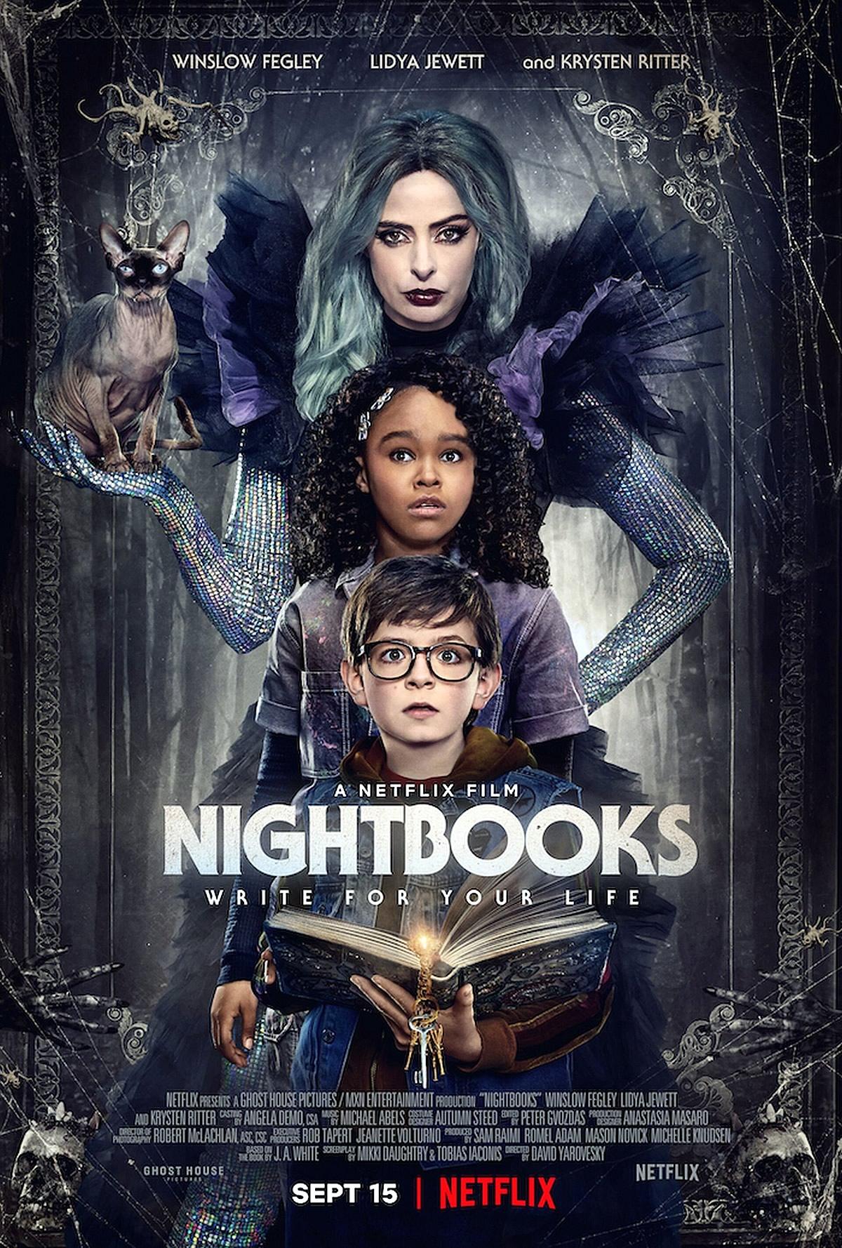 Nightbooks   Terror da Netflix com Krysten Ritter do produtor Sam Raimi tem trailer divulgado