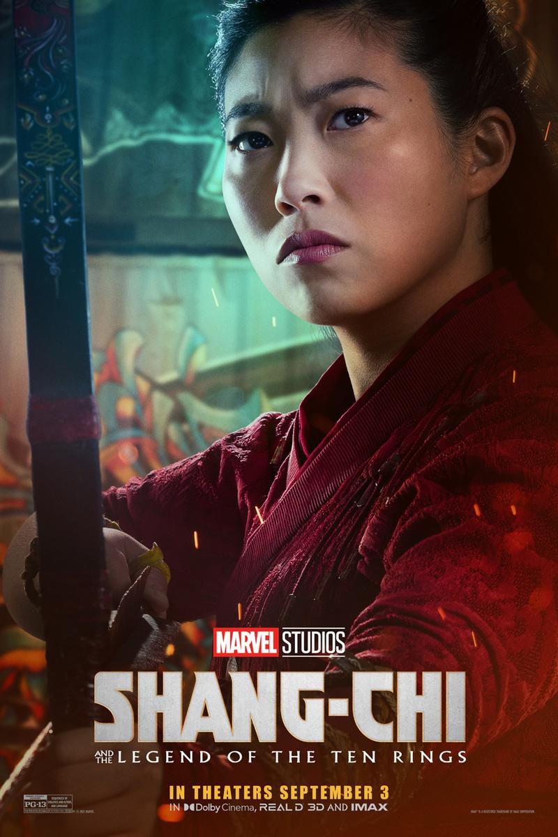 Shang-Chi e a Lenda dos Dez Anéis   Marvel Studios divulga cartazes individuais dos principais personagens