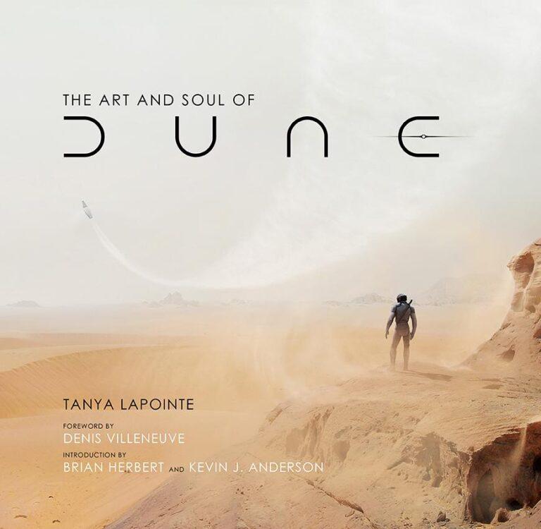 the art and soul of dune de denis villeneuve 768x750 - The Art and Soul of Dune de Denis Villeneuve, livro inclui uma partitura musical composta por Hans Zimmer