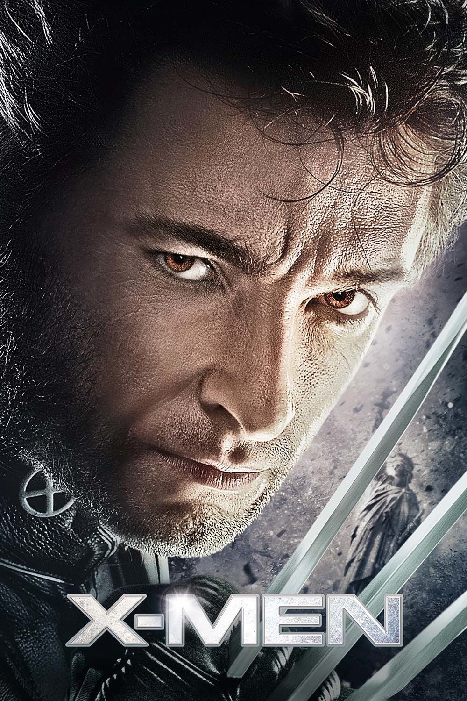 Hugh Jackman como Wolverine em X-Men o filme de 2000 dirigido por Bryan Singer
