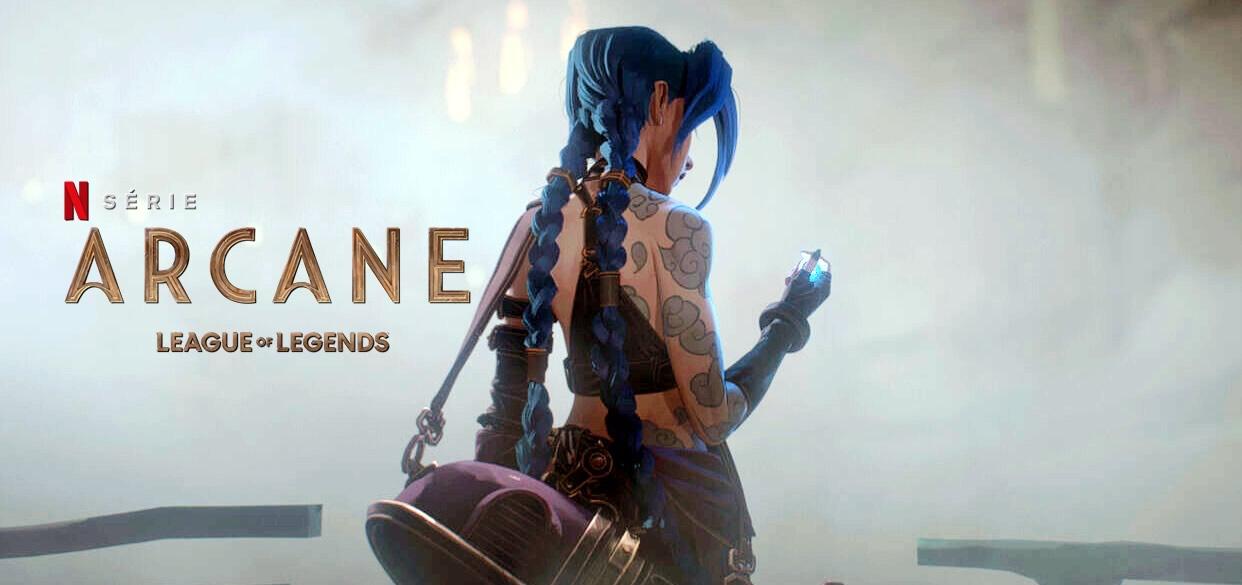 ARCANE | Netflix divulga no evento Tudum trailer da série animada baseada no game LEAGUE OF LEGENDS