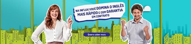 Curso de Inglês Influx Unidade Vila Ema - São José dos Campos