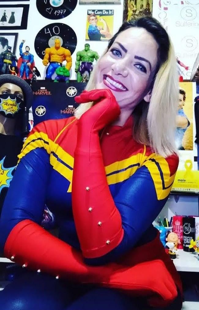 Ju Capitã Marvel