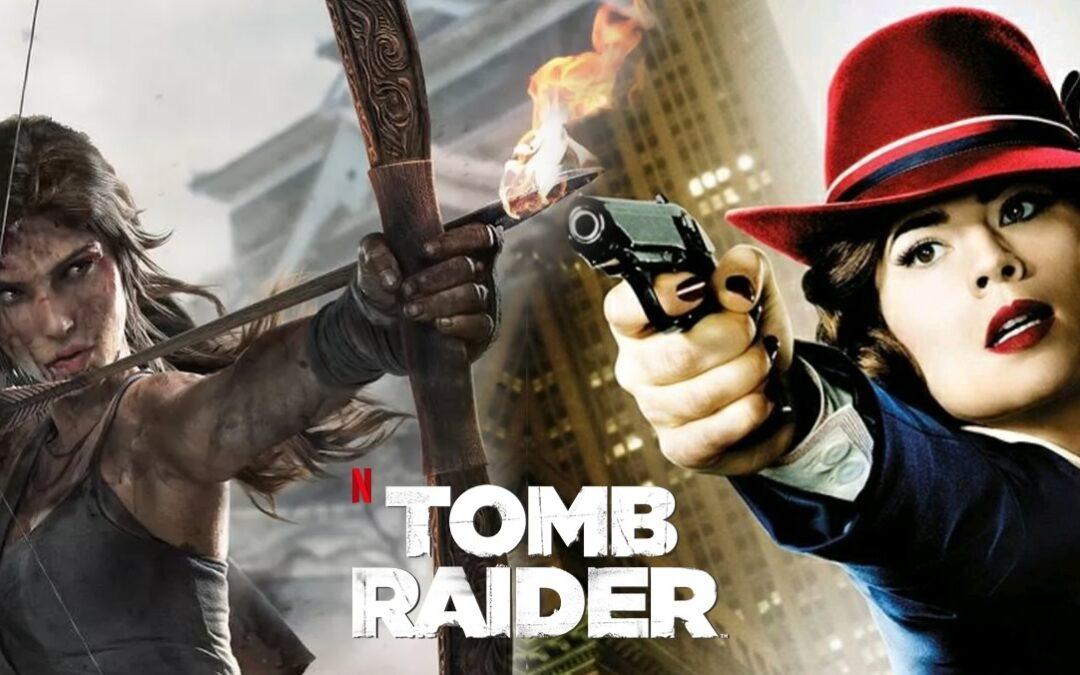 Lara Croft | Anime da Netflix terá a voz da atriz Hayley Atwell, a agente Peggy Carter da Marvel, em sua protagonista