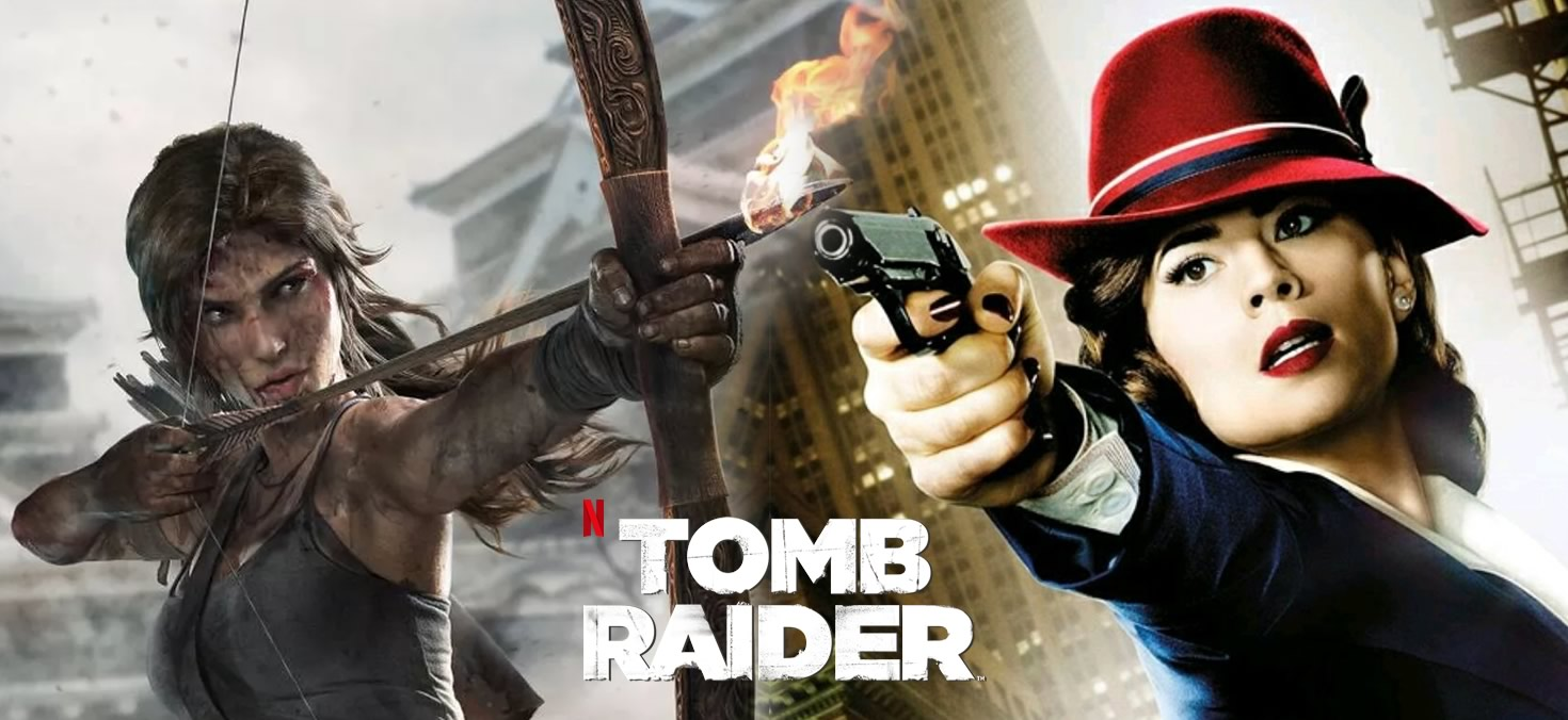 Lara Croft   Anime da Netflix terá a voz da atriz Hayley Atwell, a agente Peggy Carter da Marvel, em sua protagonista