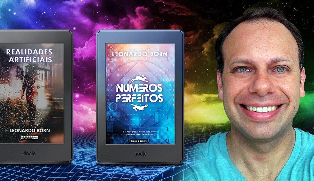 Leonardo Born | Escritor de Ficção Científica apresenta histórias de mistério e distopias do universo sci fi em seus livros