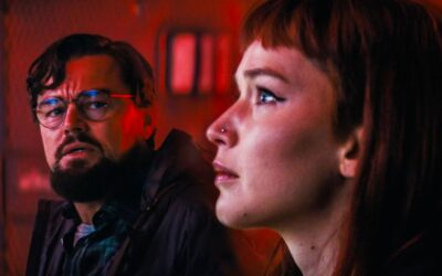 """Não Olhe para Cima   Filme com Leonardo DiCaprio e Jennifer Lawrence novo trailer intitulado """"Pare e observe"""" no evento Tudum da Netflix"""