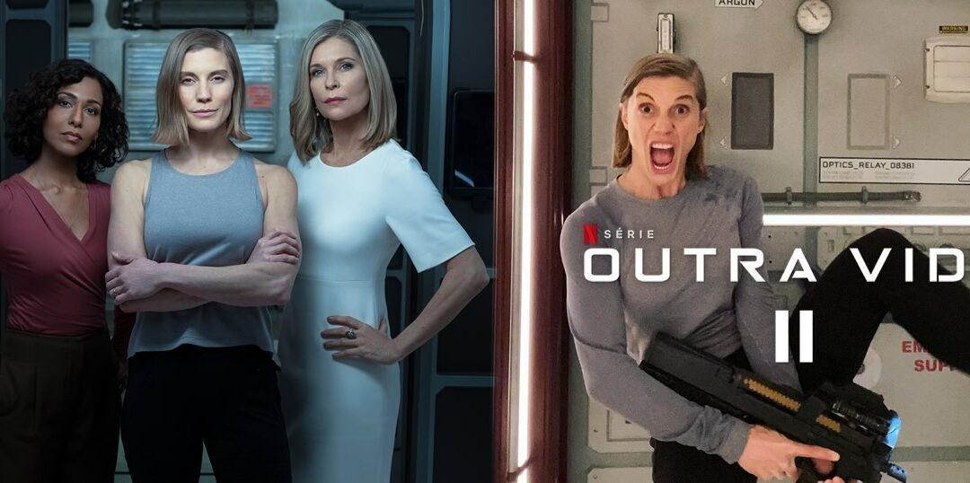 Outra Vida 2 | Série Netflix | Katee Sackhoff divulga imagens da segunda temporada e novos integrantes vindos de Battlestar Galactica