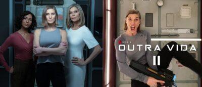 Outra Vida 2   Série Netflix   Katee Sackhoff divulga imagens da segunda temporada e novos integrantes vindos de Battlestar Galactica