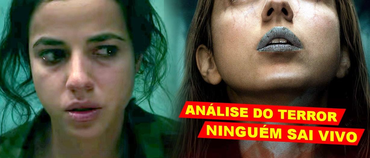 Ninguém Sai Vivo   Análise com Spoiler do filme de terror na Netflix com Cristina Rodlo e dirigido por Santiago Menghini