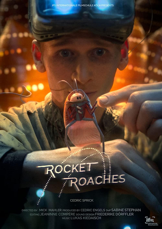 Rocket Roaches Dust Poster - Rocket Roaches | Baratas espaciais em curta-metragem de ficção científica por Mick Mahler no canal DUST