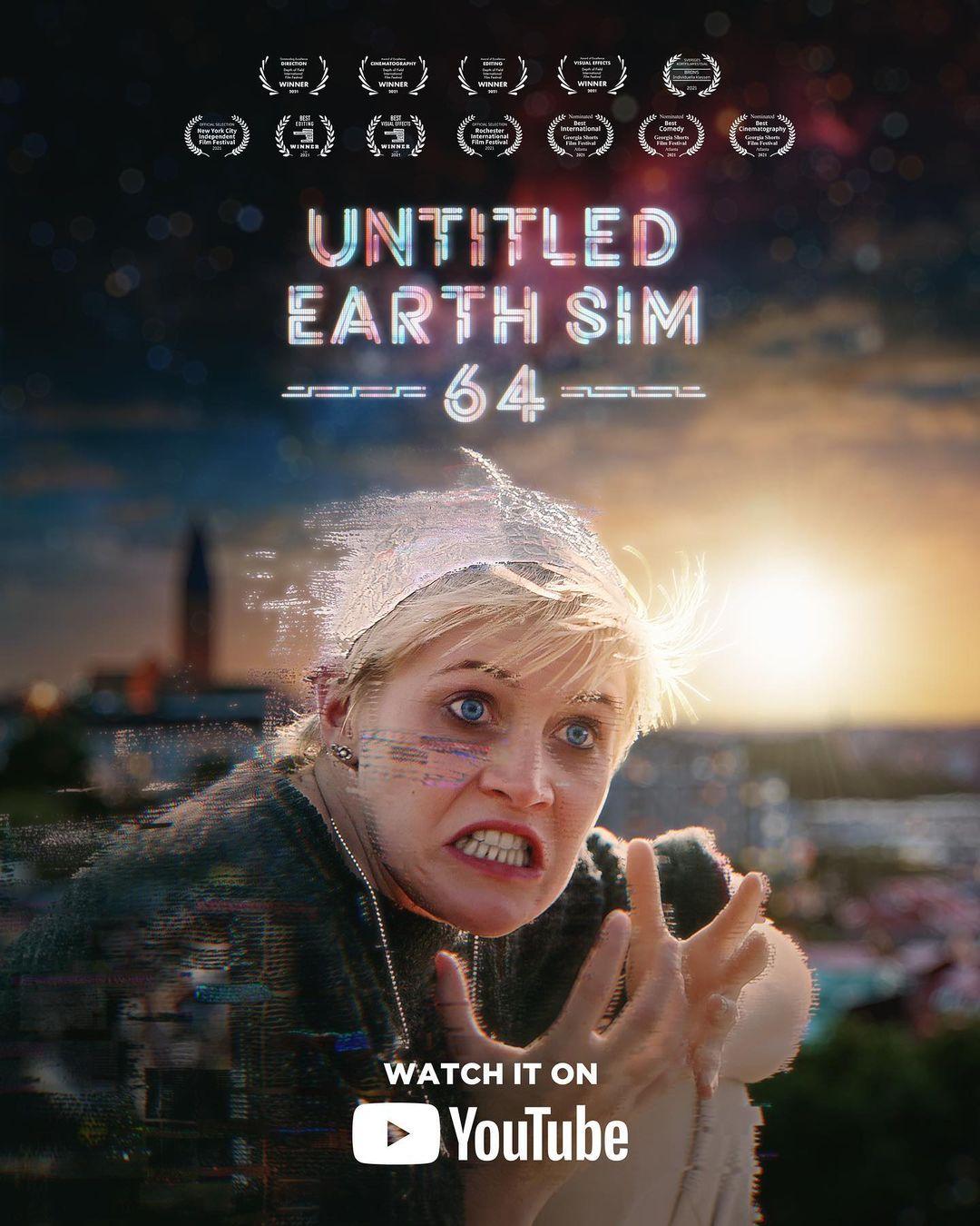 Untitled Earth Sim 64 | Mulher descobre que o universo é uma simulação em Curta-metragem de ficção científica