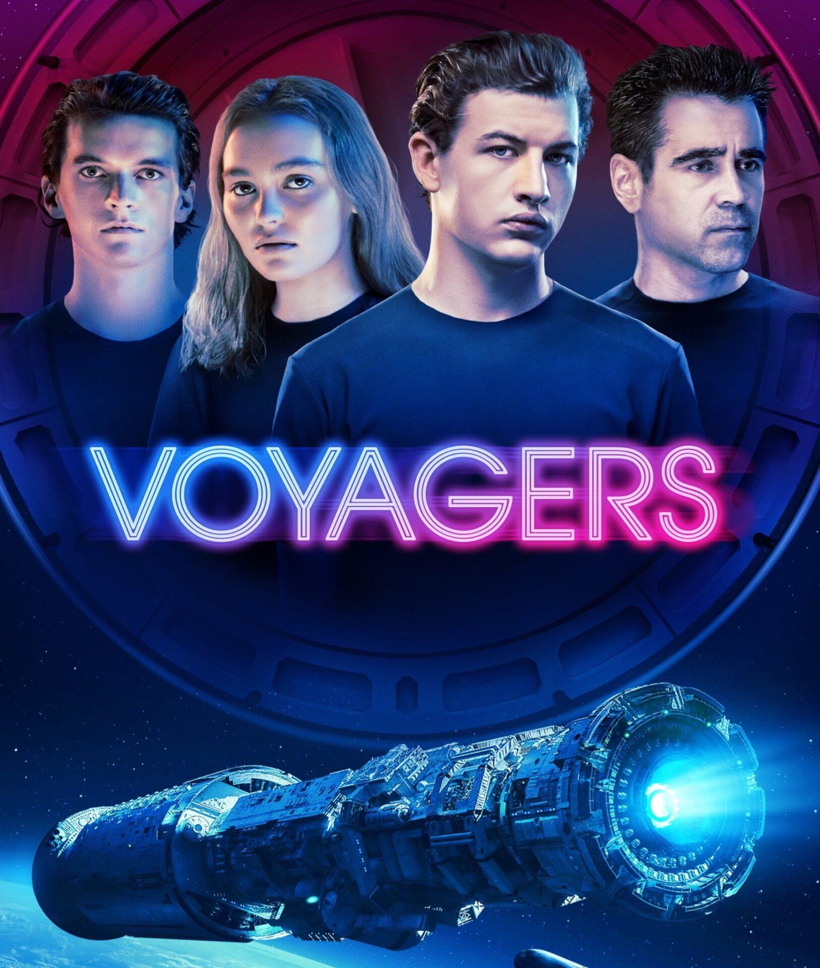 Viajantes Instinto e Desejo   Ficção científica espacial com Colin Farrell e Tye Sheridan na Amazon Prime Video