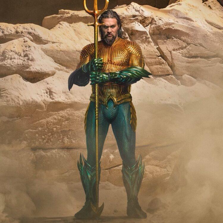 aquaman and the lost kingdom jason momoa revela em seu instagram o traje verde e laranja 750x750 - Aquaman and the Lost Kingdom   Jason Momoa revela em seu instagram o novo traje para a sequência