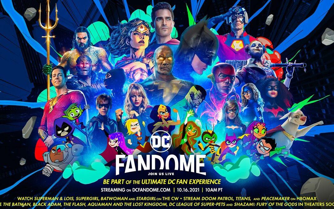 DC Fandome 2021 | Chamando todos os DCnautas para um NOVO E ÉPICO EVENTO AO VIVO